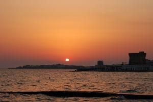 A sunset on Gallipoli